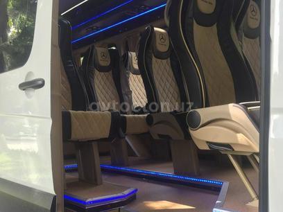 Переоборудование микроавтобуса с грузовых на пассажирский в г. Ташкент