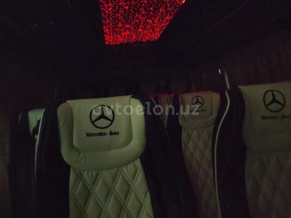 Перетяжка салона на микроавтобус мерседес спринтер, вито (виано) в г. Ташкент – фото 9