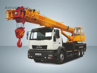 MAN  Автокран MAN CLA 31.280 6x4 BB 32 тонн 2019 года за ~148 105 у.е. в Toshkent